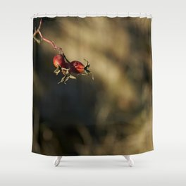 Fleshy Fruit Shower Curtain