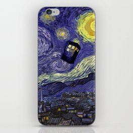 Doctor Who 010 iPhone Skin