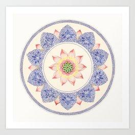 Carl Jung Design Art Print