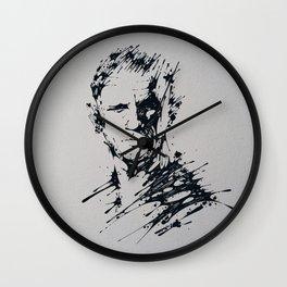 Splaaash Series - James Daniel Ink Wall Clock