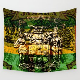 Jamaica Tropical Island Paradise Wall Tapestry