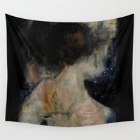 imagerybydianna Wall Tapestries featuring apophrades by Imagery by dianna