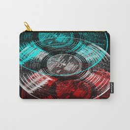 Vinyl LP Anaglyph Carry-All Pouch