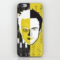 jesse pinkman iPhone & iPod Skins featuring Jesse Pinkman  by Micah Lanier