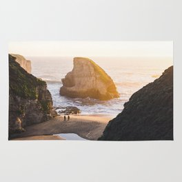 Shark Fin Cove -  Davenport, CA Rug