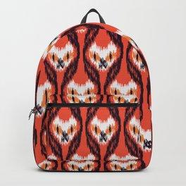 halloween ikat cats Backpack