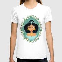 jasmine T-shirts featuring Jasmine by Joey Ellson