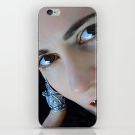 In Contemplation of Vampiric Consumption iPhone Skin