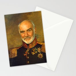 Sir Sean Connery - replaceface Stationery Cards