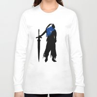 abyss Long Sleeve T-shirts featuring Abyss Knight by CaptainSunshine
