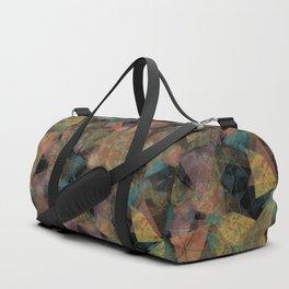 Triangle chaos Autumn Duffle Bag
