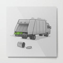 Accident on Sesame St.  Metal Print