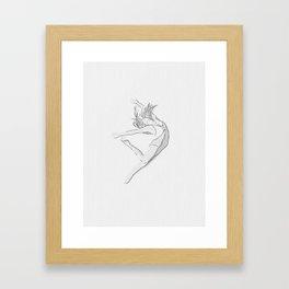 """Infinita belleza"" * 14 Framed Art Print"