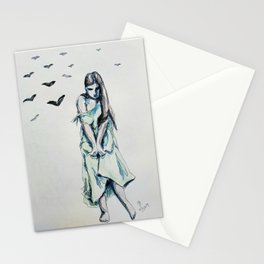 The Green Dress Stationery Cards