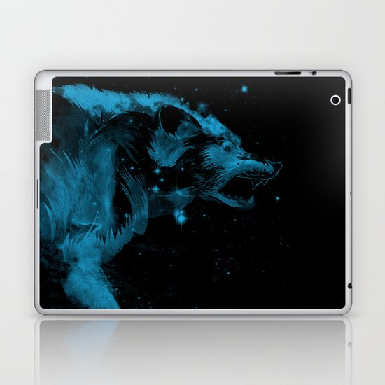 the watcher Laptop & iPad Skin