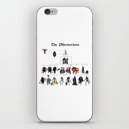 The Pthumerians iPhone Skin