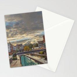 Foot Bridge at Gas Street Basin Stationery Cards
