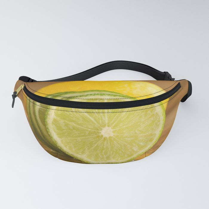 Lime slices Fanny Pack