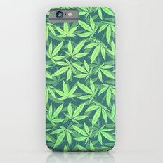 Cannabis / Hemp / 420 / Marijuana  - Pattern iPhone 6 Slim Case