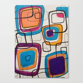 Patterns VG-103 Canvas Print