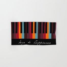 keys to happiness Hand & Bath Towel
