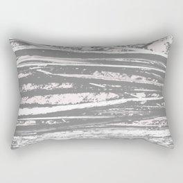 Cracking branch (charcoal) Rectangular Pillow