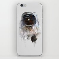 astronaut iPhone & iPod Skins featuring Astronaut by Daniel Taylor