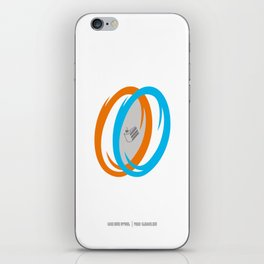 PAUSE – Cake, It's a Lie iPhone Skin