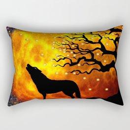 WOLF ENCOUNTER #1 Rectangular Pillow