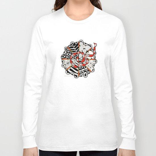 Its Your Birthday- Zentangle Illustration Long Sleeve T-shirt