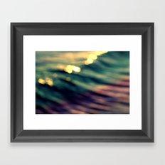 Waveform Framed Art Print