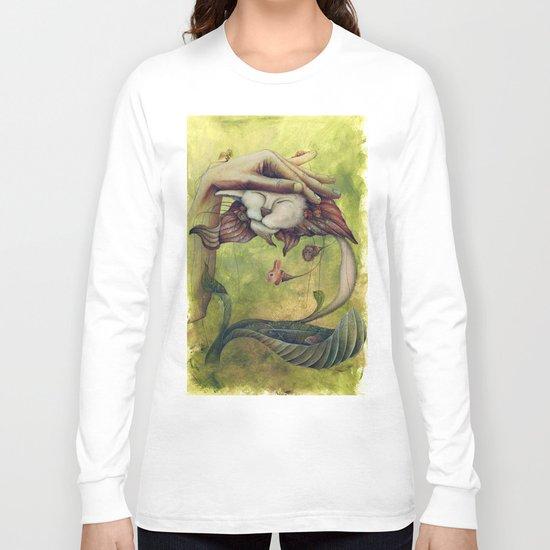 "E.A.Poe ""The Black Cat"" Long Sleeve T-shirt"