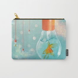 Ideas and Goldfish ... Carry-All Pouch