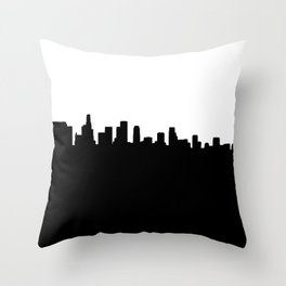 Los Angeles Shadow Throw Pillow