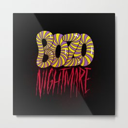 BOZO Nightmare Metal Print