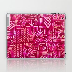 Tapa Tribal Red Laptop & iPad Skin