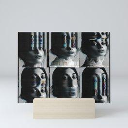 Scan experiment Mini Art Print