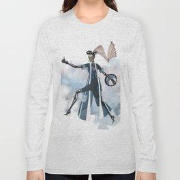Blue New York City Long Sleeve T-shirt