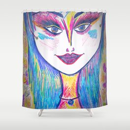 Sweet Chill Shower Curtain