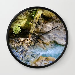 johnston canyon, 2017. Wall Clock