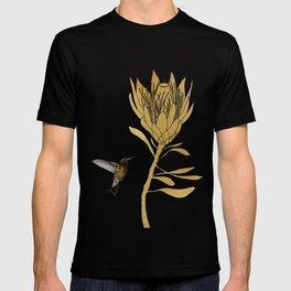 Hummingbird & Flower I T-shirt