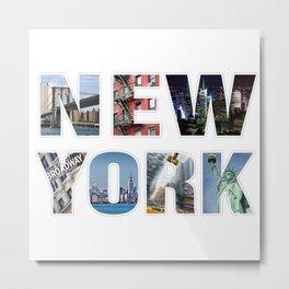NewYork Metal Print