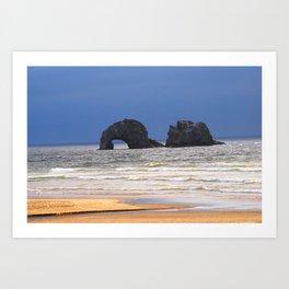 twin rocks Art Print