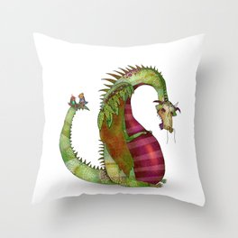"""Ignore the """"behind your back talkers"""" Throw Pillow"""