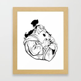 Jinbe Framed Art Print