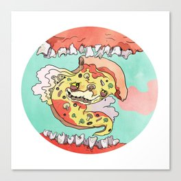 Pizza Dreams Canvas Print