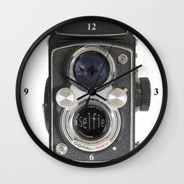Selfie .. Wall Clock