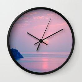 Calm sunrise Wall Clock