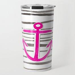 ANCHOR Symbol - Stripes  Travel Mug
