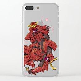 Samurai Jiu-Jitsu Clear iPhone Case